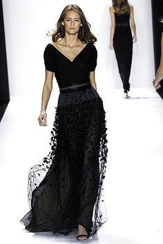 Bill Blass stunning black