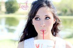 Senior girl photo