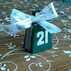 Cowbell + bling = happy football mom! :)  @Amber Schmidt --- Can I make a bunch of these??