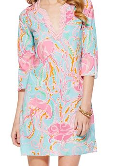 Lilly Pulitzer Courtney Tunic Dress in Jellies Be Jammin