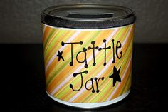 Tattle Jar When students begin to tattle, simply divert them to the jar so they could write down their thoughts.  This idea would be great in any elementary classroom.