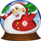 Kids Christmas Snow Globe ($0.00) A funny Christmas toy for your kids! As with a real snow globe, they can tilt, shake and put upside down the device to move the snow flakes.  FEATURES - tilt and shake to spread the snow - chase the flakes by touching the screen - three traditional Christmas Songs included: Jingle Bells, Merry Christmas, Silent Night.