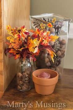 Accents for Fall Decor