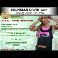 Turn your passion of working out into a source of income email me for more info mgcecare@gmail.com
