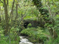 "The ""Real"" Fairy Bridge...opposed to the modern one on the main road to Castletown"