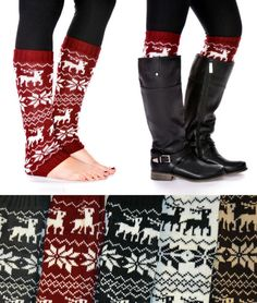 Winter leg warmers. Yes. Just yes.