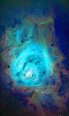Lagoon Nebula.