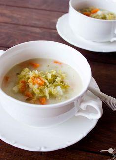 #Zupa ogórkowa.