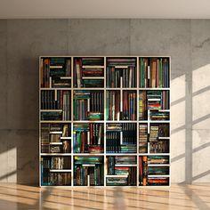 Love this bookshelf!!