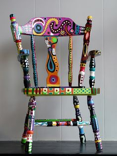 painted chair.....