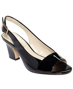 Anne Klein Shoes, Ulema Slingback Pumps - Shoes - Macy's $79