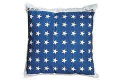 Loving this Union Jack pillow.  #onekingslane and #designisneverdone