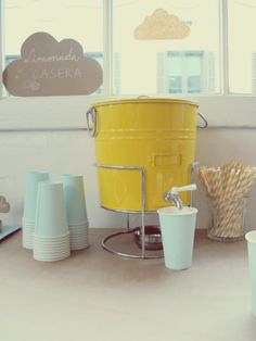 simple and sweet drink station
