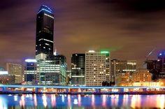 Yarra River CBD  Melbourne, Australia