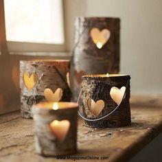 Valentine votives.