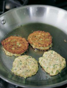 Zucchini Pancakes from Ina Garten