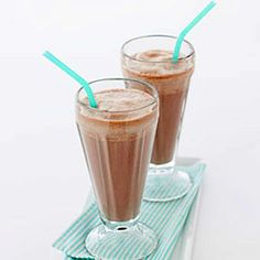 Very Chocolate Milk Shake | http://www.health.com/health/gallery/0,,20504259,00.html