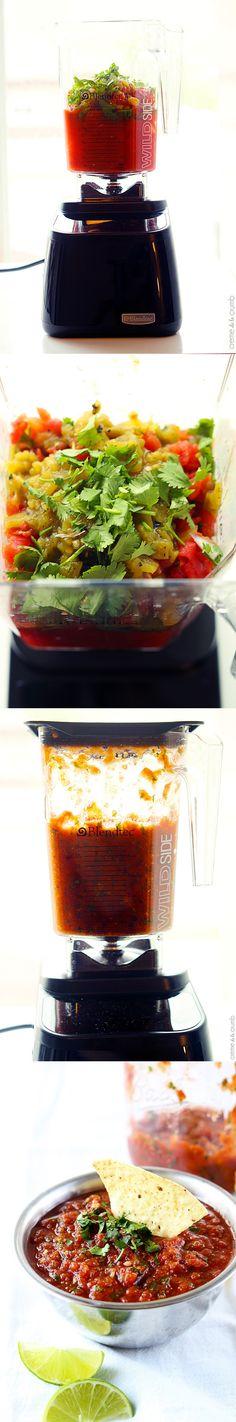 Easy Blender Salsa