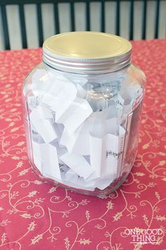 25 Days Of Service Jar! Make The Holidays More Meaningful! PLUS, an iPad Mini Giveaway! | One Good Thing By Jillee