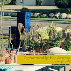 Organizational Tips for a Successful Garage Sale