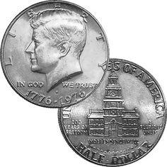 JFK Bicentennial Half Dollar $4.35 #bestseller
