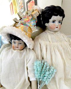 Sweet china doll sisters!