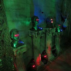 Haunted Bust Entryway