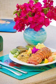 Caribbean lobster dish from Ocean Club's Cabana Bar. #oceanclub # ...