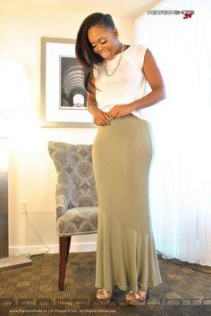 Maxi skirt photo set!