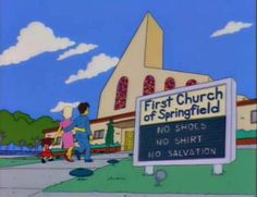 24 More Funny Signs From The Simpsons | Pleated-Jeans.com