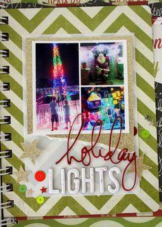 The next bit....lights #heidiswapp #believe #christmas
