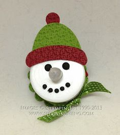 SHARING CREATIVITY and COMPANY: Love this little tealight snowman
