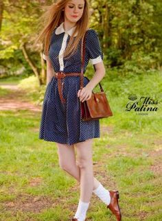 Deer&doe bleuet dress