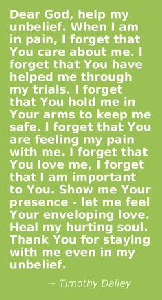 Fibromyalgia - Amen!
