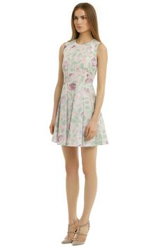 RED Valentino Pocket Full of Posies Dress