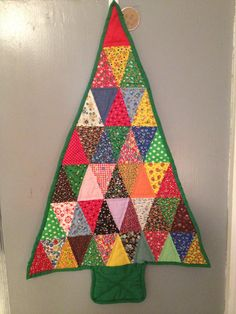 Vintage Quilted Christmas tree