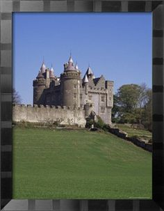 Killyleagh Castle Dating from the 17th Century, County Down, Northern Ireland by Michael Jenner