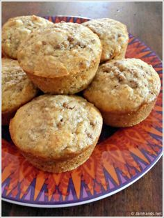 Moist and Delicious Bran Muffins at www.Jamhands.net