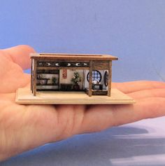 1/144th inch scale miniature-Teahouse