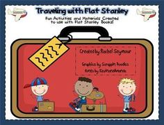 I created this 35 page pack to use with Flat Stanley Chapter books!  I teach first grade and we did these Flat Stanley activities and my kiddos LOVED it!! It's on sale May 6-May8!!