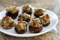 Low Carb Stuffed Mushrooms With Italian Sausage Recipe