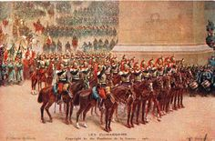 World War I postcard commemorating France by lehiboublanc on Etsy, $7.00