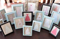 100 dresses activity, idea, church, frame dress, relief societi