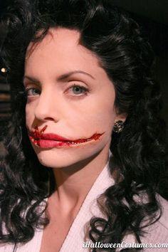 scary makeup for Halloween - Halloween Costumes 2013#halloween #costumes