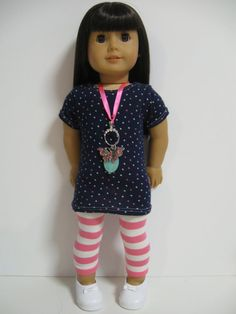 American Girl Doll Clothes Spring fun by 123MULBERRYSTREET on Etsy, $26.00