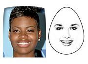 The Shape Of Your Face - Triangle/Pear, lots of info