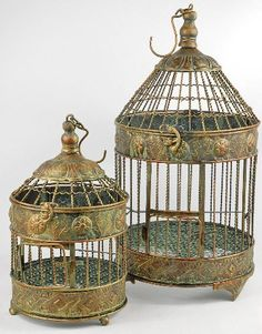 Gorgeous bird cages