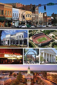 Home... Athens, GA.