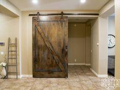 PORTER BARN WOOD IN PHOENIX AZ Sliding Barn Door with Ignite Finish