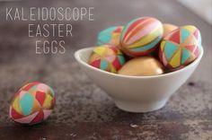 32 Egg-citing Ways to Dye Easter Eggs {how to}